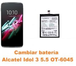 Cambiar batería Alcatel OT-6045 Idol 3 5.5