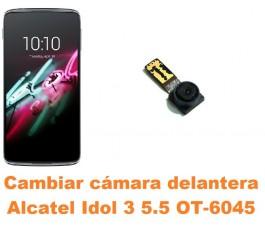 Cambiar cámara delantera Alcatel OT-6045 Idol 3 5.5