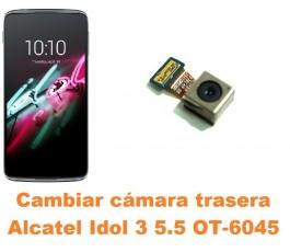 Cambiar cámara trasera Alcatel OT-6045 Idol 3 5.5