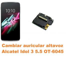 Cambiar auricular altavoz Alcatel OT-6045 Idol 3 5.5