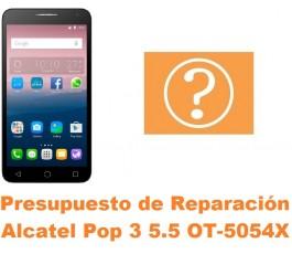 Presupuesto de reparación Alcatel OT-5054X Pop 3 5.5