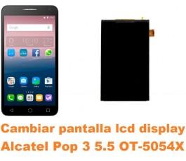 Cambiar pantalla lcd display Alcatel OT-5054X Pop 3 5.5