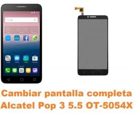 Cambiar pantalla completa Alcatel OT-5054X Pop 3 5.5