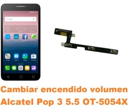 Cambiar encendido y volumen Alcatel OT-5054X Pop 3 5.5