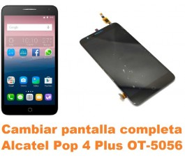 Cambiar pantalla completa Alcatel OT-5056 Pop 4 Plus