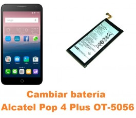Cambiar batería Alcatel OT-5056 Pop 4 Plus