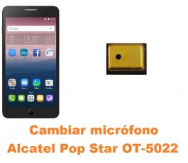 Cambiar micrófono Alcatel OT-5022 Pop Star