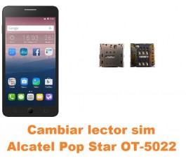 Cambiar lector sim Alcatel OT-5022 Pop Star