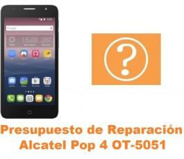 Presupuesto de reparación Alcatel OT-5051 Pop 4