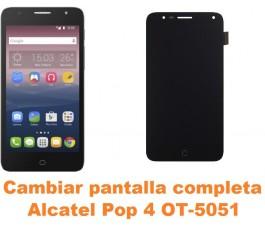 Cambiar pantalla completa Alcatel OT-5051 Pop 4