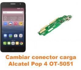 Cambiar conector carga Alcatel OT-5051 Pop 4
