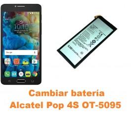 Cambiar batería Alcatel OT-5095 Pop 4S