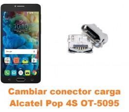 Cambiar conector carga Alcatel OT-5095 Pop 4S