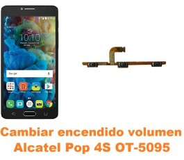 Cambiar encendido y volumen Alcatel OT-5095 Pop 4S