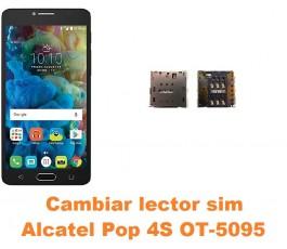 Cambiar lector sim Alcatel OT-5095 Pop 4S