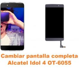 Cambiar pantalla completa Alcatel OT-6055 Idol 4