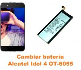 Cambiar batería Alcatel OT-6055 Idol 4