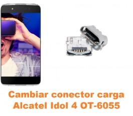 Cambiar conector carga Alcatel OT-6055 Idol 4