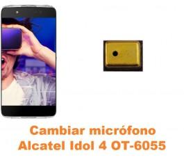 Cambiar micrófono Alcatel OT-6055 Idol 4