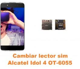 Cambiar lector sim Alcatel OT-6055 Idol 4