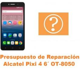 Presupuesto de reparación Alcatel OT-8050D Pixi 4