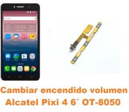 Cambiar encendido y volumen Alcatel OT-8050D Pixi 4