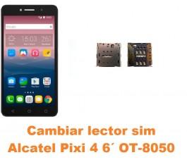 Cambiar lector sim Alcatel OT-8050D Pixi 4