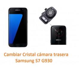 Cambiar cristal cámara trasera Samsung S7 G930