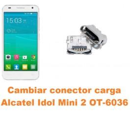 Cambiar conector carga Alcatel Idol Mini 2 OT-6036
