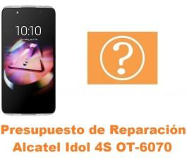 Presupuesto de reparación Alcatel Idol 4S OT-6070