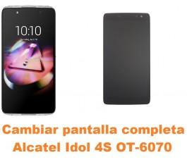 Cambiar pantalla completa Alcatel Idol 4S OT-6070