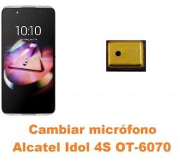 Cambiar micrófono Alcatel Idol 4S OT-6070