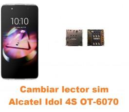 Cambiar lector sim Alcatel Idol 4S OT-6070