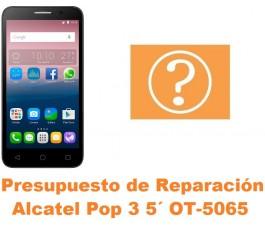 Presupuesto de reparación Alcatel OT-5065 Pop 3 5´