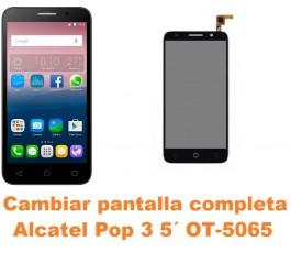 Cambiar pantalla completa Alcatel OT-5065 Pop 3 5´
