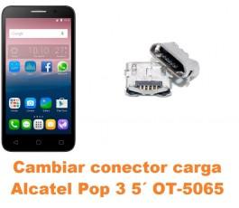 Cambiar conector carga Alcatel OT-5065 Pop 3 5´