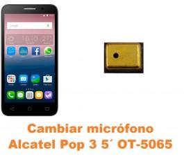 Cambiar micrófono Alcatel OT-5065 Pop 3 5´