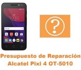 Presupuesto de reparación Alcatel OT-5010 Pixi 4