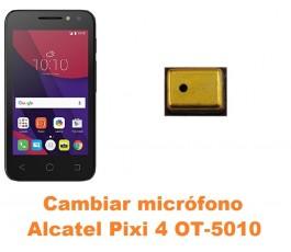 Cambiar micrófono Alcatel OT-5010 Pixi 4