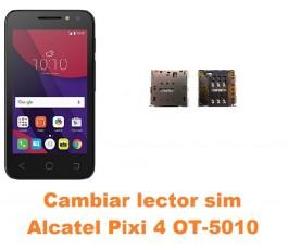 Cambiar lector sim Alcatel OT-5010 Pixi 4