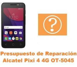 Presupuesto de reparación Alcatel OT-5045 Pixi 4 4G