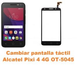 Cambiar pantalla táctil cristal Alcatel OT-5045 Pixi 4 4G