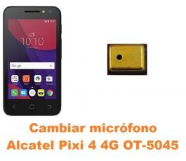 Cambiar micrófono Alcatel OT-5045 Pixi 4 4G
