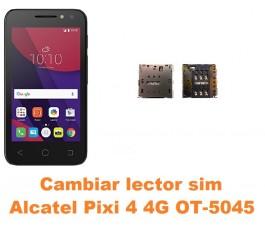 Cambiar lector sim Alcatel OT-5045 Pixi 4 4G
