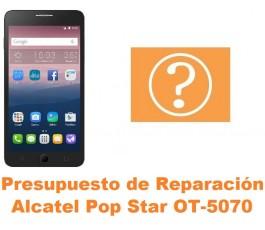 Presupuesto de reparación Alcatel OT-5070 Pop Star