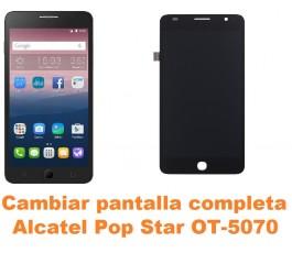 Cambiar pantalla completa Alcatel OT-5070 Pop Star