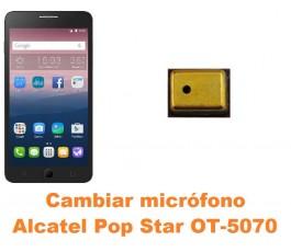 Cambiar micrófono Alcatel OT-5070 Pop Star