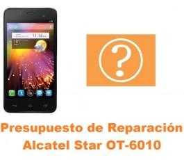Presupuesto de reparación Alcatel OT-6010 Star