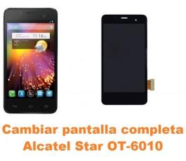 Cambiar pantalla completa Alcatel OT-6010 Star