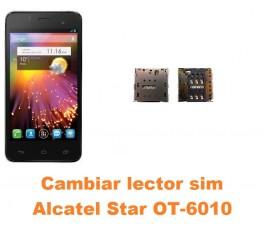 Cambiar lector sim Alcatel OT-6010 Star